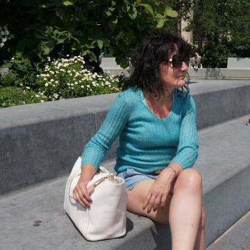 Pull femme mohair et soie - Mohair du Pays de Corlay