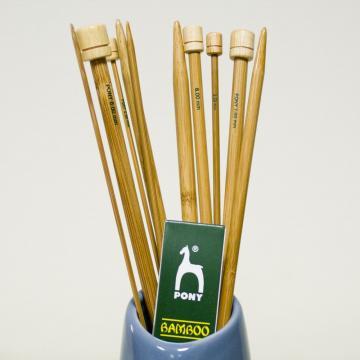 Jeu de 2 aiguilles bambou - Mohair du Pays de Corlay