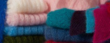 Tricots faits main Mohair du pays de Corlay.
