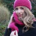 Miss 15/17 Bretagne 2015, bandeau et écharpe mohair