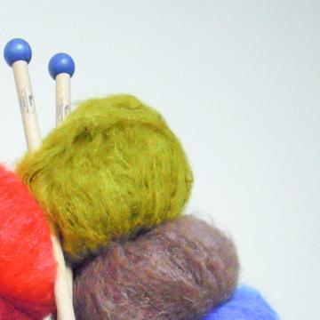 Pelote pur laine mohair CARESSE - Mohair des Fermes de France