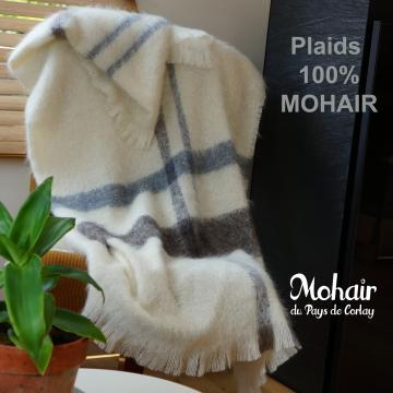 Plaids en mohair fabriqué en France