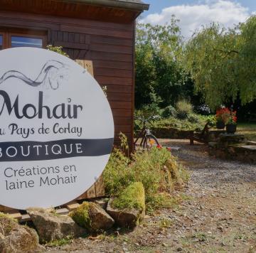 Boutique Mohair du Pays de Corlay Mohair de nos chèvres