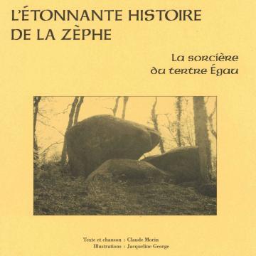 """Livre de contes """"L'étonnante histoire de la Zèphe"""""""