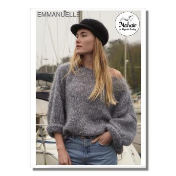 "Fiche tricot ""Pull Emmanuelle"""