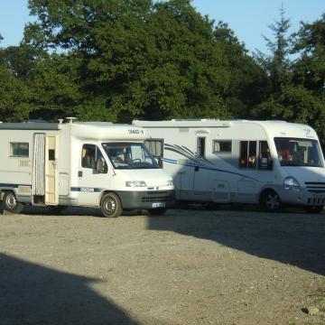 Aire de stationnement camping-car à la ferme