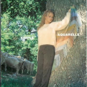 """Pull """"Simple"""" 10 p.Diva  aig 4, châle """"Aquarelle"""" 13p. aig 4"""