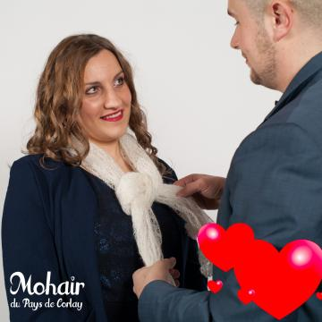 Saint Valentin en mohair