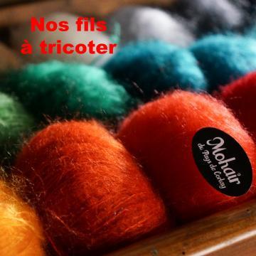 Sélection Fils à tricoter Mohair du Pays de Corlay