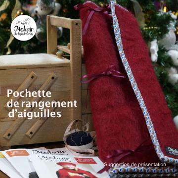 Pochette de rangement - Mohair du Pays de Corlay