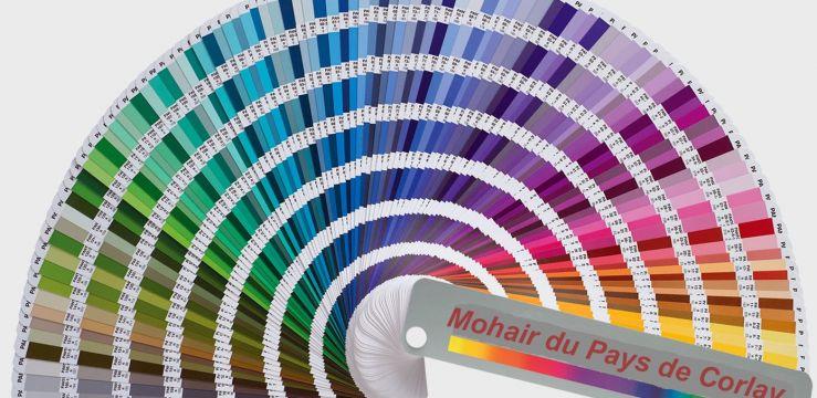 Nouveaux coloris collection Mohair du Pays de Corlay Automne-hiver 2017