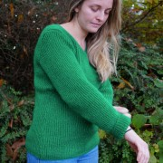 Pull maille anglaise