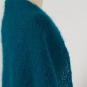 Trendy châle laine mohair et soie double DIVA