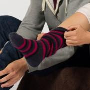 Mi-bas mohair ou chaussettes hautes TRISKEL