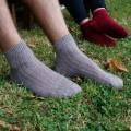 Socquettes mohair de chevreau