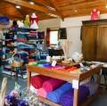 Couvertures en mohair et fils à tricoter