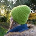Bonnet AVENTURE mohair et soie