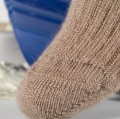 Chaussettes mohair unies TRISKEL