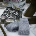 Chaussettes longues de montagne et de randonnée