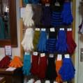 Les gants mohair et soie