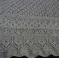 Exemple de châle réalisé en fil Druide