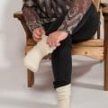Chaussettes de nuit en laine mohair de chevreau