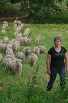 Anne Marie, the French breeder