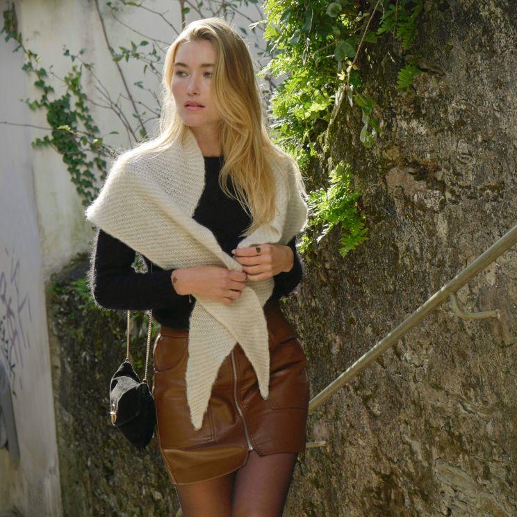trendy mohair et soie tricoté très actuel