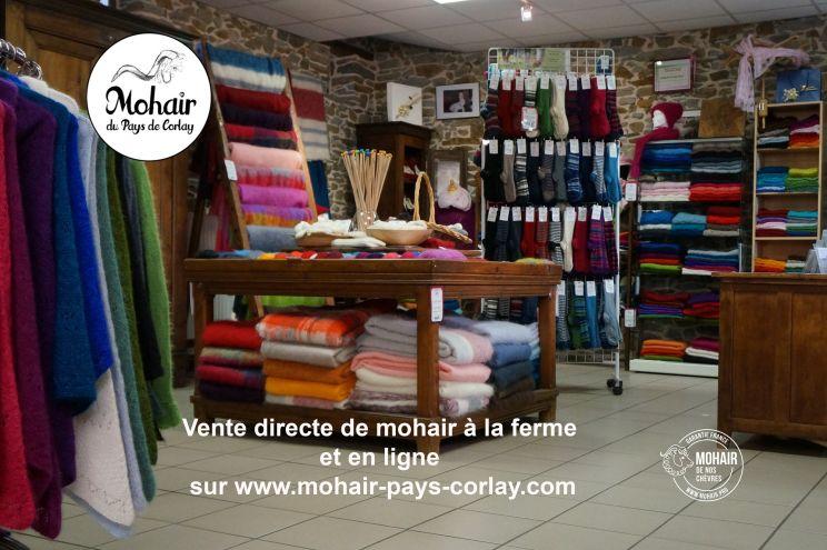 Produits Mohair d'exception en boutique ou en ligne