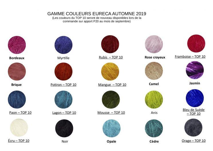 Nos couleurs Mohair Automne 2020
