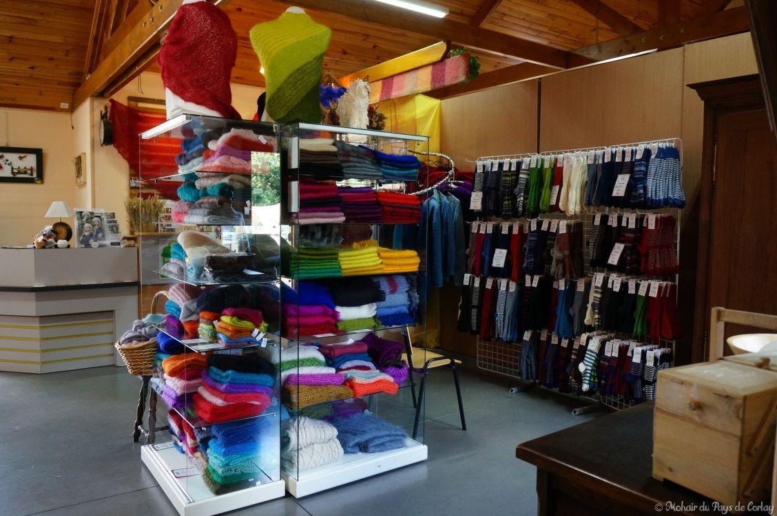 Les tissés et tricotés en mohair