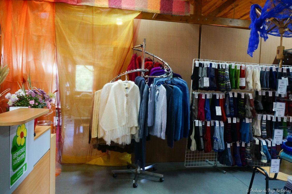 Des tricots moelleux réalisés à partir du fil ARMOR
