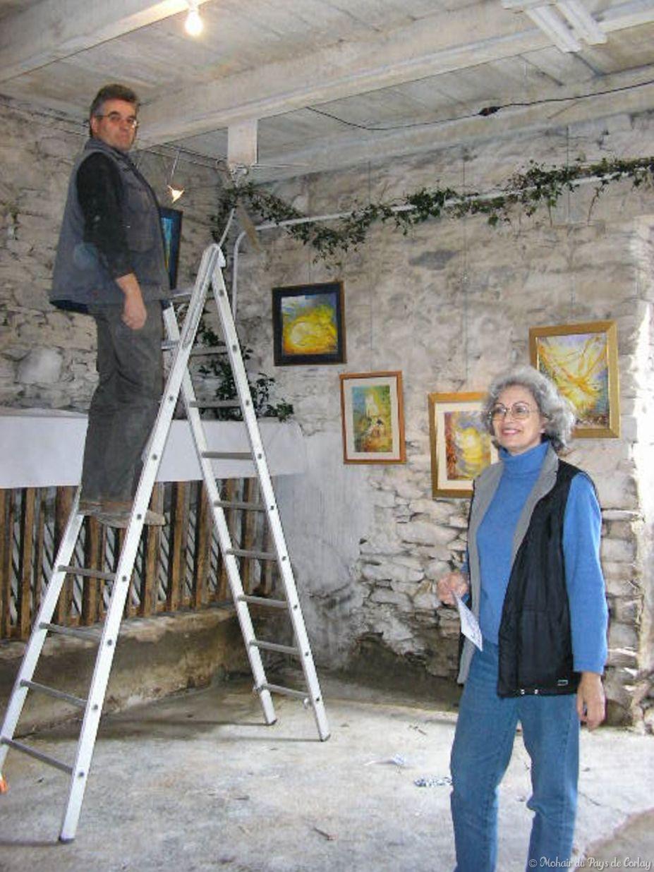 Partenaire Jacqueline George artiste peintre