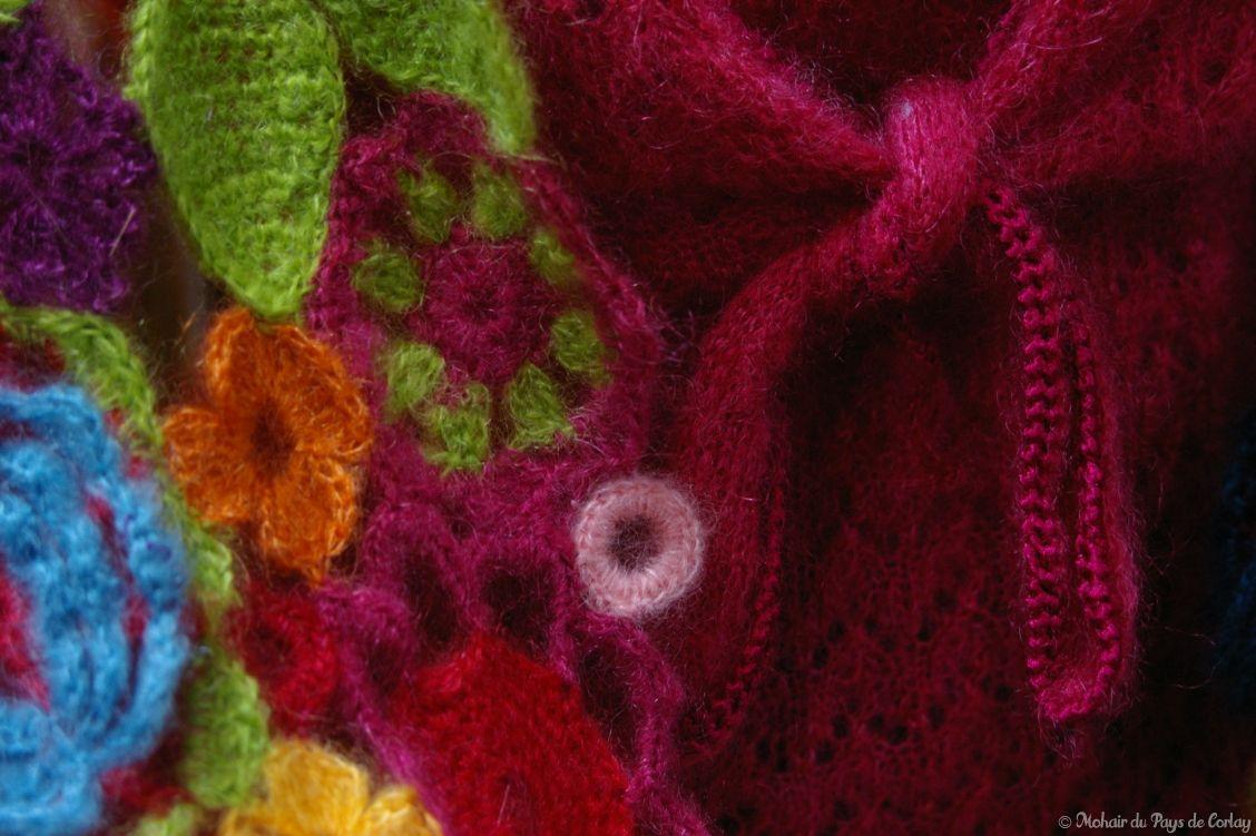 Créations mohair main tricot et crochet