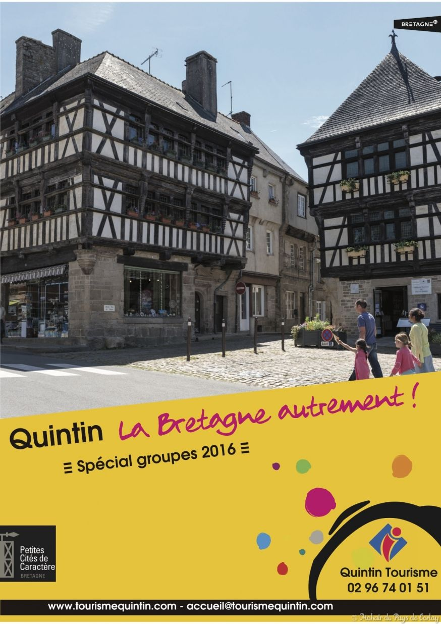 Brochure groupes Quintin 2016