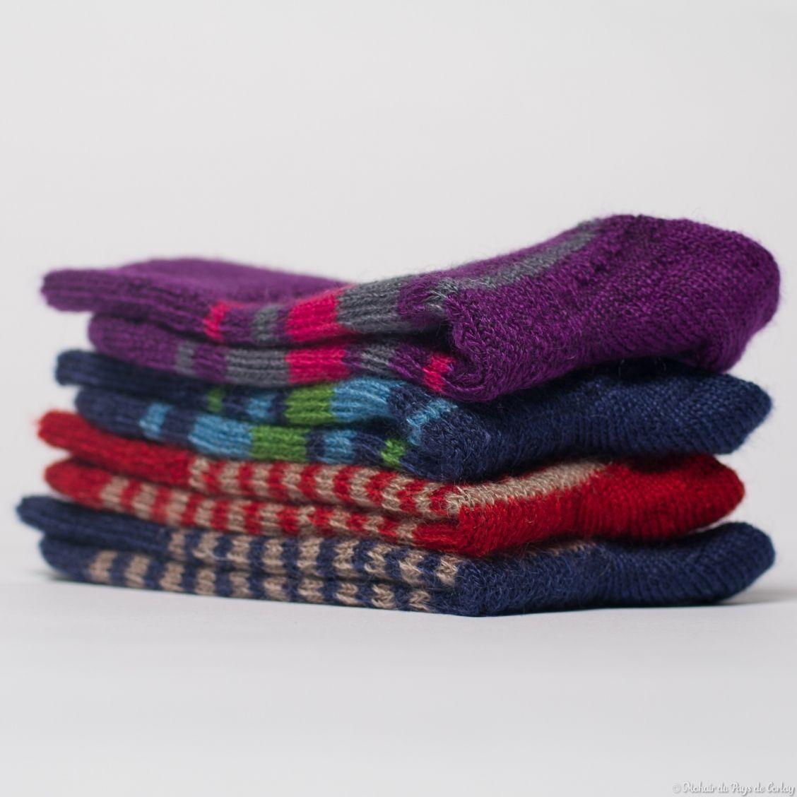 Les chaussettes Triskel