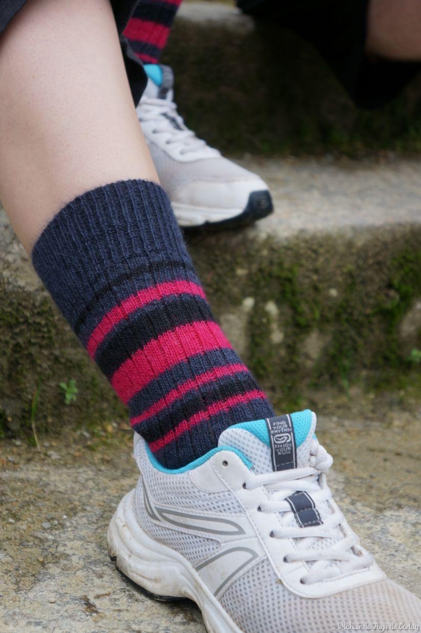 Les chaussettes Triskel pour femme