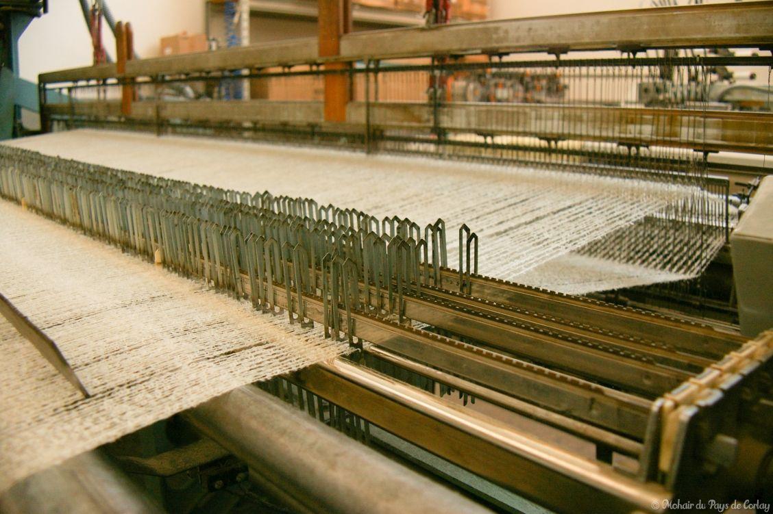plaids et couvertures, le métier du tisserand
