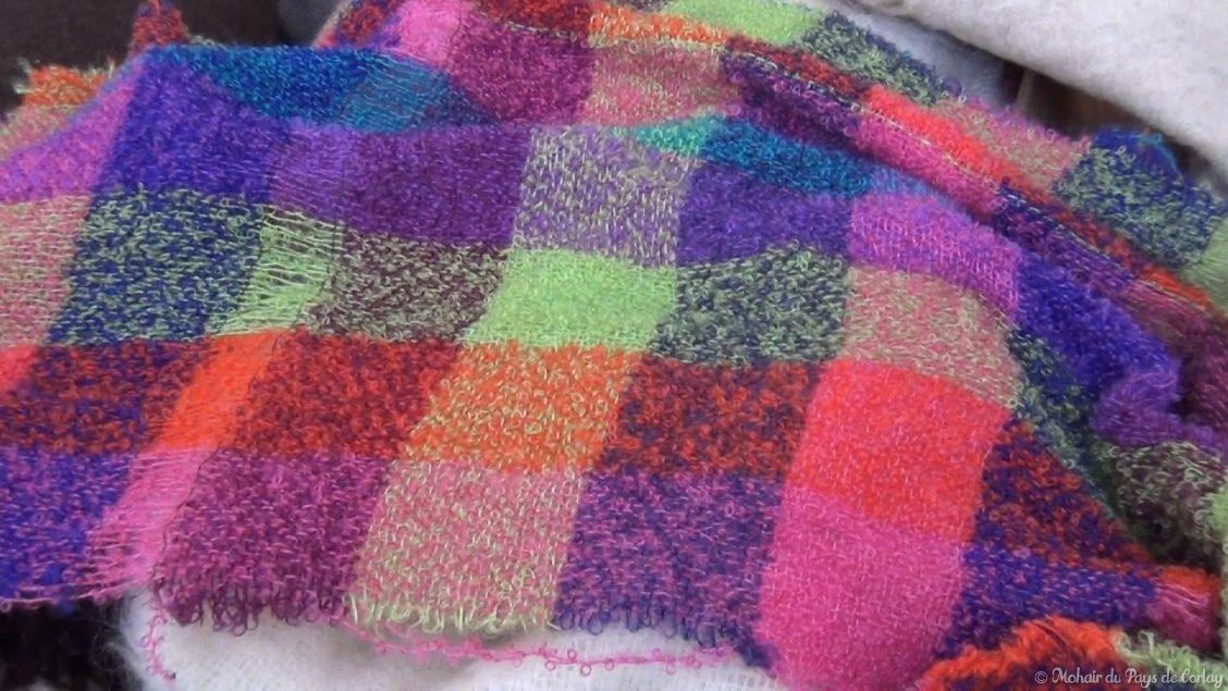 tissages multicolores